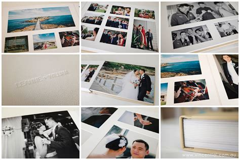 Wedding Albums Sydney by Sydney Wedding Photographer Fusion Leather Wedding