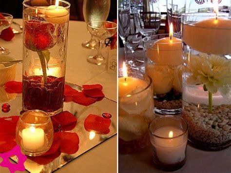 adornos de mesa para bodas con velas como decorar una boda con velas