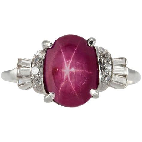 Ceylon Ruby 5 68ct best 25 platinum ring ideas on deco ring