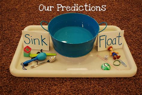 preschool science sink or float no time for flash 15 best images about floating and sinking on pinterest