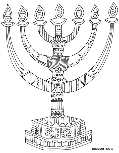 8 Of The Best Most Artful Hanukkah Coloring Pages Dreidel Coloring Pages Free