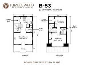 tumbleweed plans b 53 plans