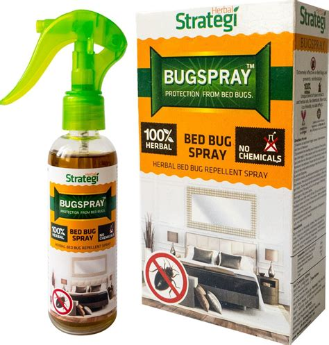 bed bug repellent spray herbal strategi bed bug spray buy baby care products in