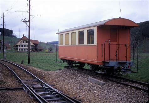Der Kleine Wagen B 16 Der Oberaargau Jura Bahn Ojb An