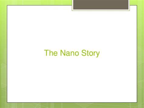 Study On Tata Nano Project Mba by Tata Nano Study