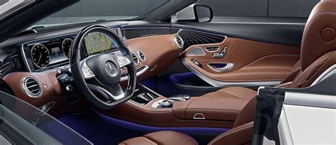 mercedes s550 interior the mercedes s550 cabriolet s stunning interior