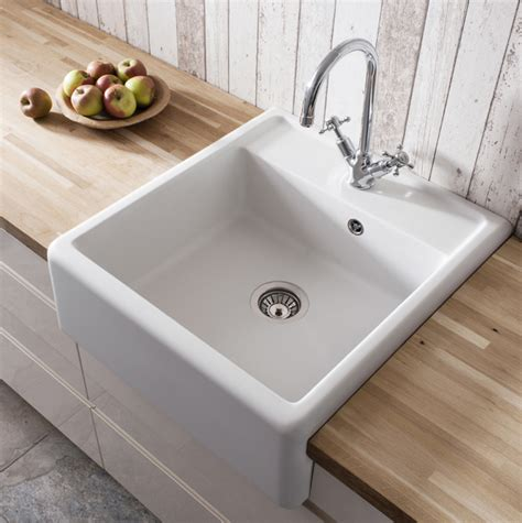 Ceramic Kitchen Sink Crosswater Belgravia Ceramic Belfast Kitchen Sink Ks Bl5963cw