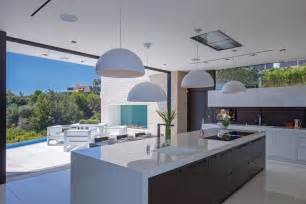 Kitchen Luxury White Modern Luxury Kitchen Design With White Laminate Island Countertops And Italian Lacquered