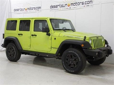 Gecko Green Jeep Wrangler Unlimited For Sale New 2013 Gecko Green Jeep Unlimited For Sale Autos Post