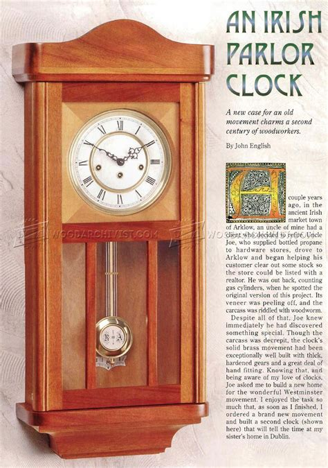 wall clock plans woodworking wall clock plans woodarchivist