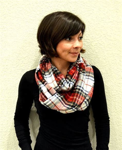 tutorial natalie scarf diy flannel infinity scarf i can make this pinterest