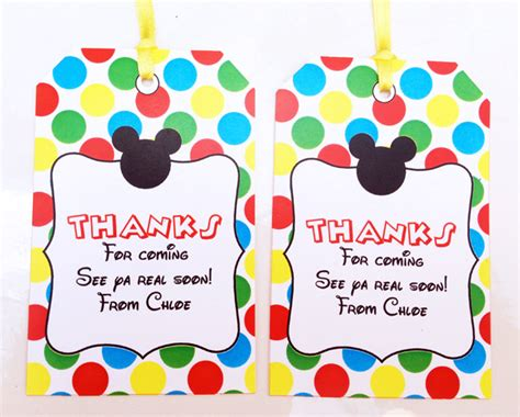 mickey mouse clubhouse printable birthday decorations mickey mouse clubhouse printable invitation party