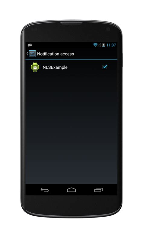 android registerreceiver android notificationlistenerservice exle