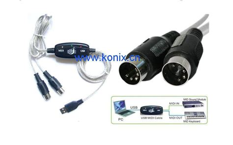 Usb Midi Cable china usb midi cable interface keyboard w 718 china usb midi cable usb to midi cable