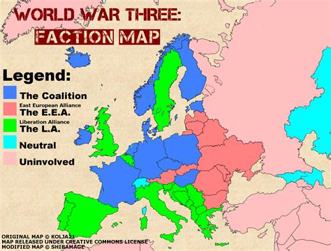 middle east map in 2050 ww3 europe map by shibamage on deviantart