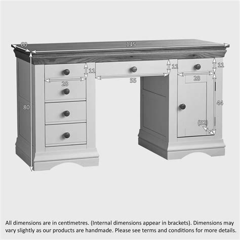 Country Cottage Desk by Country Cottage Painted Computer Desk In Solid Oak