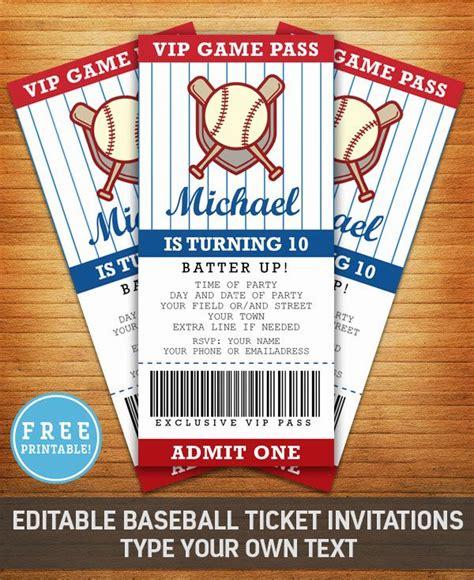 baseball themed invitation template 17 migliori idee su inviti per festa a tema baseball su