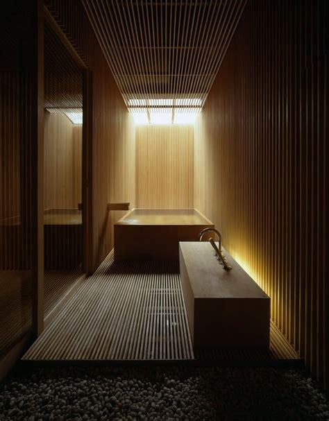 bagno stile giapponese la doccia aperta per un bagno in stile giapponese