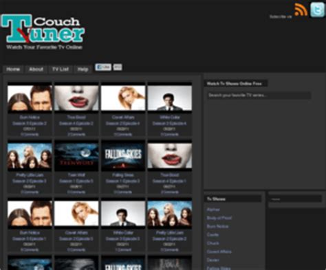 my couch tuner couchtuner com couch tuner watch your favorite tv online