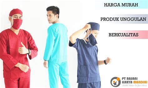 Baju Pasien Baju Operasi Baju Rumah Sakit Murah Bahan Bagus 1 seragam oka harga murah rasani medika