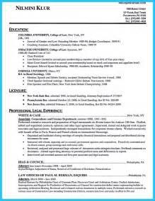 tax attorney resume sle best attorney