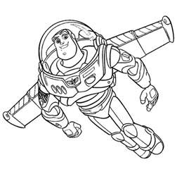free printable buzz lightyear coloring pages kids