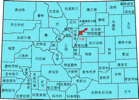 county map of colorado colorado counties zh mapsof net