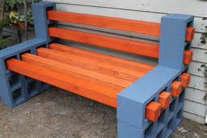 bench made from cinder blocks bench made from cinder blocks home design architecture