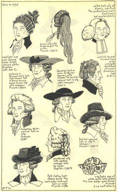 1800 haircuts timeline hat and hair references through the ages on pinterest