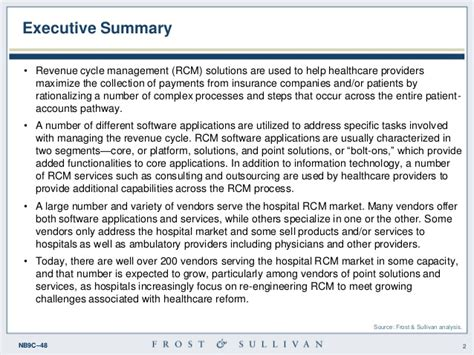 a revenue managers point of view on hospitals home u s hospital revenue cycle management overview and
