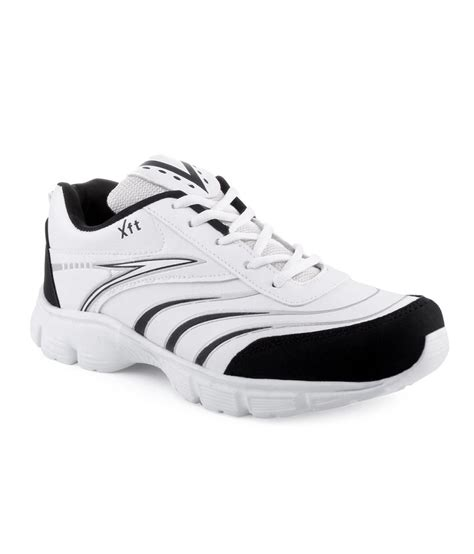 black and white sports shoes xtrafit white and black sports shoes price in india buy