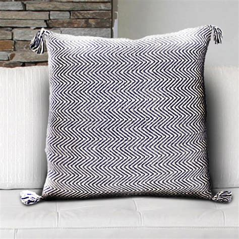 30 x 30 decorative pillows lr resources chevron blue 30 in x 30 in