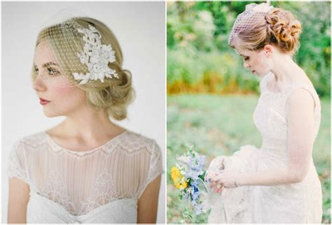 Wedding Hairstyles With A Birdcage Veil by Wedding Hairstyles With Birdcage Veil Ipunya