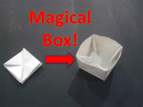 How To Make Paper Puzzle - origami puzzle box plans diy free