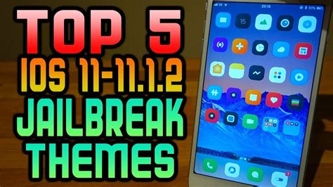 themes for iphone 5 without jailbreak top 5 jailbreak themes for electra anemone ios 11 11 1 2