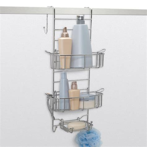 zenith bathtub and shower caddy zenith products large plastic over the shower caddy