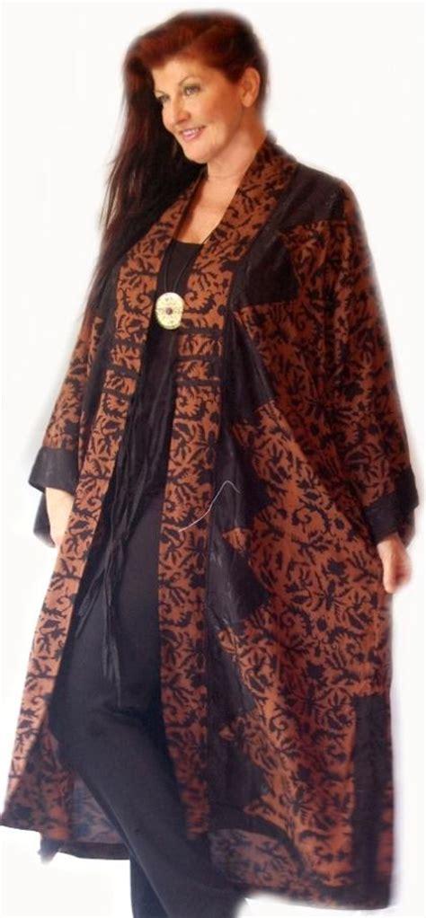 Batik Dress Kimono Melati e248s in stock kimono jacket duster ties rayon batik elegance lotustraders ebay