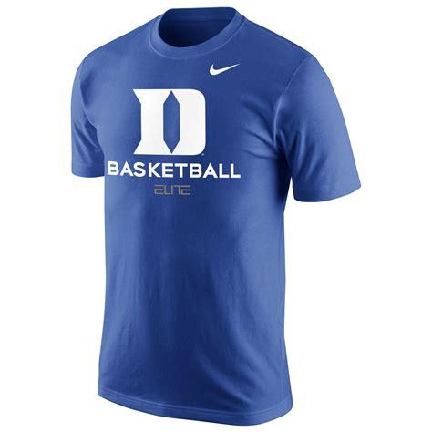 Tshirt Duke Nike Blue duke blue devils nike basketball t shirt royal