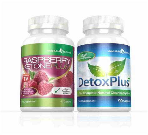 Raspberry Ketones And Detox by Raspberry Ketones Detox Plus Combo Cleanse Burn