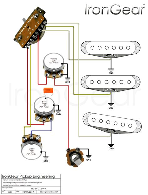 5 way rotary switch wiring diagram telecaster wiring