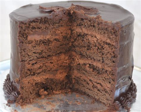 chocolate cake recipe rich chocolate cake with ganache frosting and truffle egg