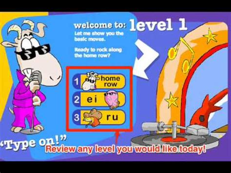 Typing Mat Level 1 by Mat Typing Level For All Type 1 2 3 4