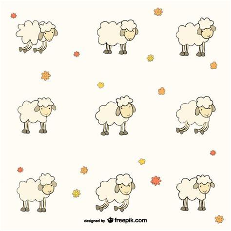 pattern para ai sheep pattern vector free download