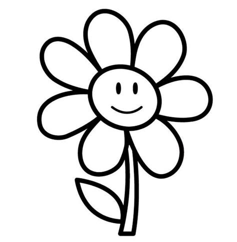 coloring pages easy to print easy printable flower coloring pages flower coloring