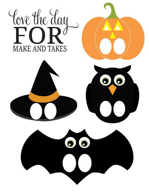 Mason Jar Decor Halloween Paper Puppet Printables Make And Takes