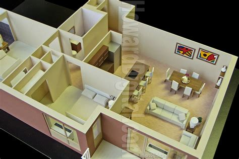interior model howard architectural models westwood