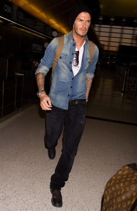 Beckham Talks Denim With by The Simple And Cool Way To Wear A Denim Shirt Choose A