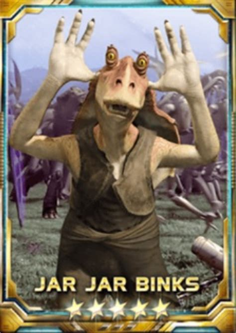 buy swfc jar jar binks cards