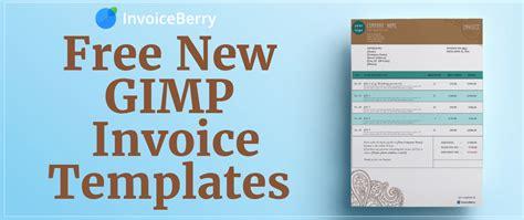Free New Gimp Invoice Templates Invoiceberry Blog Gimp Templates Free