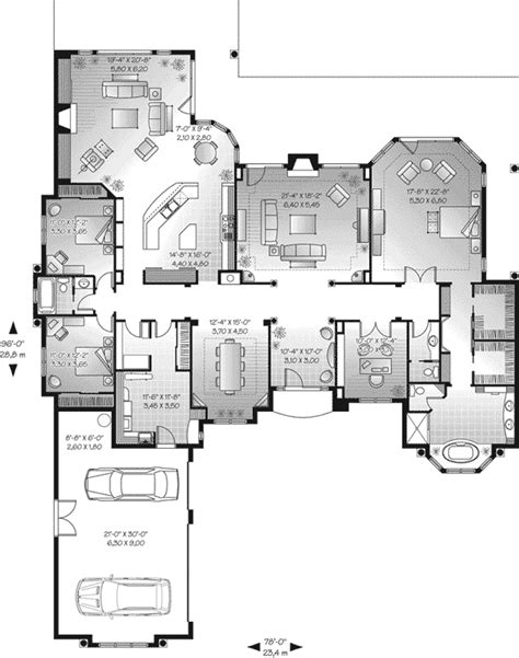 florida floor plans san jacinto florida style home plan 032d 0666 house